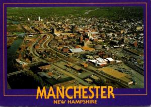 New Hampshire Manchester Aerial View