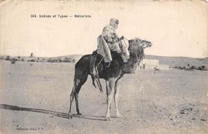 Algeria Scenes et Types Mehariste Camel