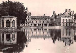 Fontainebleau France The Carip Pond of Napoleon's Pavillon Fontainebleau The ...