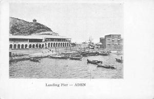 Yemen Aden, Landing Pier, Boats, Ship, Port