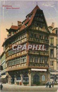 Postcard Old Strasbourg Maison Kammerzell