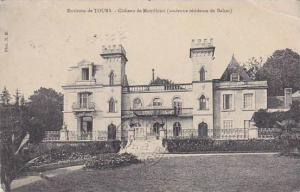 Chateau De Montfleuri, Environs De Tours (Indre et Loire), France, PU-1908