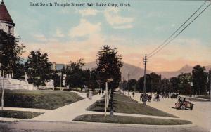 SALT LAKE CITY , Utah, 1900-10s; East South Temple Street