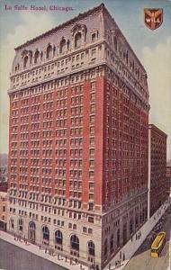 Illinois Chicago La Salle Hotel 1911