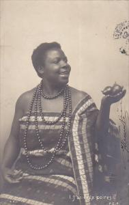 Africa Woman In Native Costume 1903