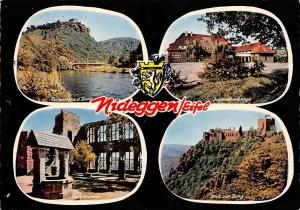 Nideggen Eifel multiviews Burgbrunnen Blick zur Burg Jugendherberge