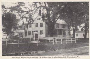 WESTMINSTER , Vermont , 00-10s ; William Czar Bradley House