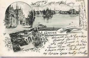 Germany - Grus Aus Blumerode  1907