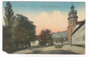 Ohrdruf , Thuringia. Germany , PU-1917 : Scloss u. Herzogl Amisgeridht