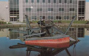 COLLEGE, Alaska , 1950-60s; Gold Dredge Model , University of Alaska