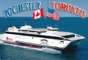 The CAT - Rochester New York to Toronto Ontario - Fast Ferry