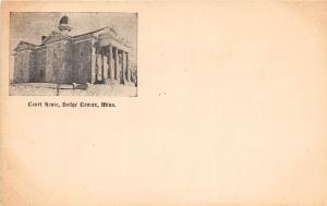 C85/ Mantorville Minnesota Mn Postcard c1910 Dodge City Court House