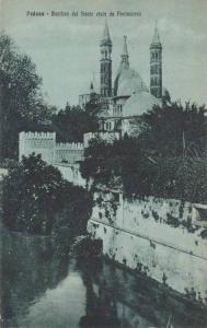 Padova, Basilica del Santo vista da Pontecorvo, Veneto, Italy, 00-10s