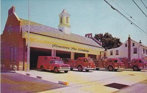 Pennsylvania Flourtown Fire Company Fire Engines Montgomery County