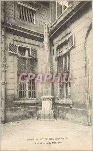 Old Postcard Paris Hotel Mint Court of al Meridienne