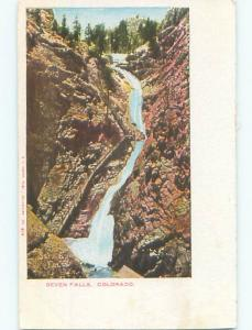 Pre-1907 SEVEN FALLS IN SOUTH CHEYENNE CANYON Colorado Springs Colorado CO n5594
