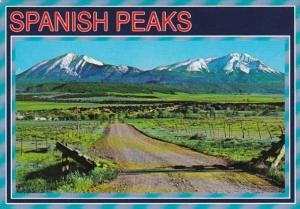 Colorado Spanish Peaks Near La Veta