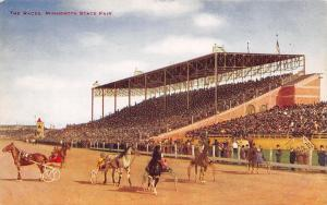 St Paul Minnesota~Harness Horse Races~Fairgrounds Grandstands c1910 V O Hammon