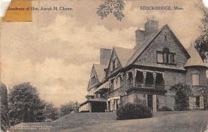 USA Stockbridge Mass. Residence of Hon. Joseph H. Choate 1920