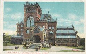 PHILADELPHIA , Pennsylvania , 1901 - 1907 ; University of Pennsylvania, Library