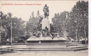 Monumento al Marques de Campo, VALENCIA, Comunidad Valenciana, Spain, 00-10's