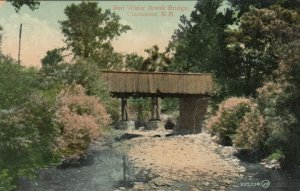 CLAREMONT , New Hampshire , 1909 ; Red Water Brook Bridge