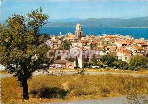 Modern Postcard General view Saint Tropez