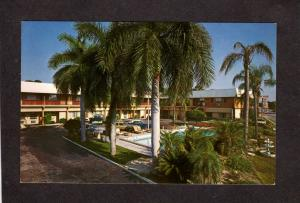 FL Southland Motel Sarasota Florida Postcard near Lido Beach