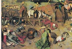 POSTAL B8528: PIETER BRUEGHEL: EL TRIUMFO DE LA MUERTE