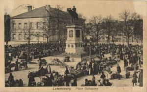CPA Luxembourg Place Gullaume (30672)