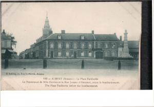 ALBERT, Somme, France, 1900-1910's; The Place Faidherbe Before The Bombardment