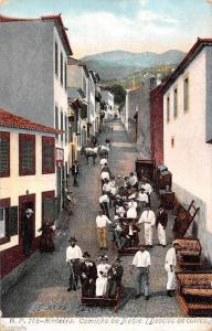 Portugal Madeira, Caminho do Monte (Descida de carros) 1908