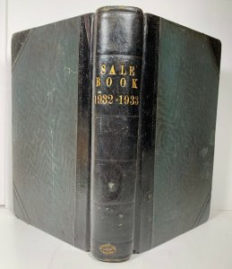 Sale Book Ledger 1932 1933 Possibly From UK Grain Wholesaler Damaged