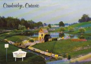 Canada Old Water Mill Churchill Park Cambridge Ontario