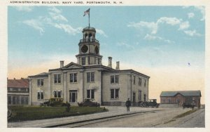 PORTSMOUTH, New Hampshire, 1900-10s; Administration Building, Navy Yard