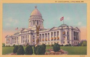 Arkansas Little Rock State Capitol Building Curteich