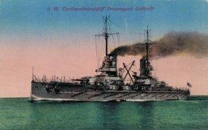 Nautica SM Turbinen linienschiff Prinzregent Luitpold Battle Ship 03.86