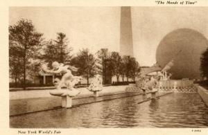 NY - 1939 World's Fair, The Moods of Time