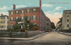 SALEM , Massachusetts, 1900-10s; Home for Aged Women