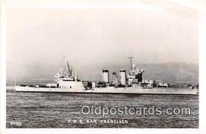 Postcard Post Card USS San Francisco
