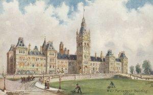OTTAWA, Ontario, Canada, 1900-10s; Main Parliament Building, TUCK No. 7384
