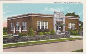 Wll Rogers Library, Claremore, Oklahoma,30-40s