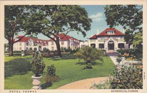 Hotel Thomas, Gainesville, Florida, PU-1939
