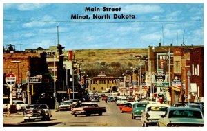 North Dakota  Minot Main Street