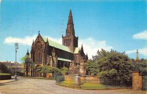 Glasgow The Cathedral Cathedrale Dom 1977