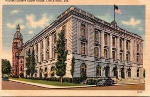 Arkansas Little Rock Pulaski County Court House