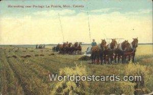 Harvesting, Partage La Prairie Manitoba Canada Unused