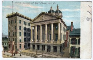 York, Pa, Security Building and Court House