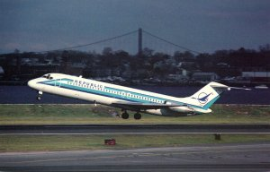 Republic Airlines McDonnell Douglas DC-9-31 At New York La Guardia Airport
