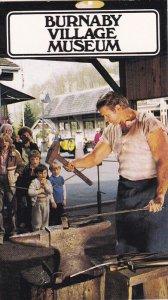 BC: Blacksmith , BURNABY Village Museum , B.C. , 50-60s
